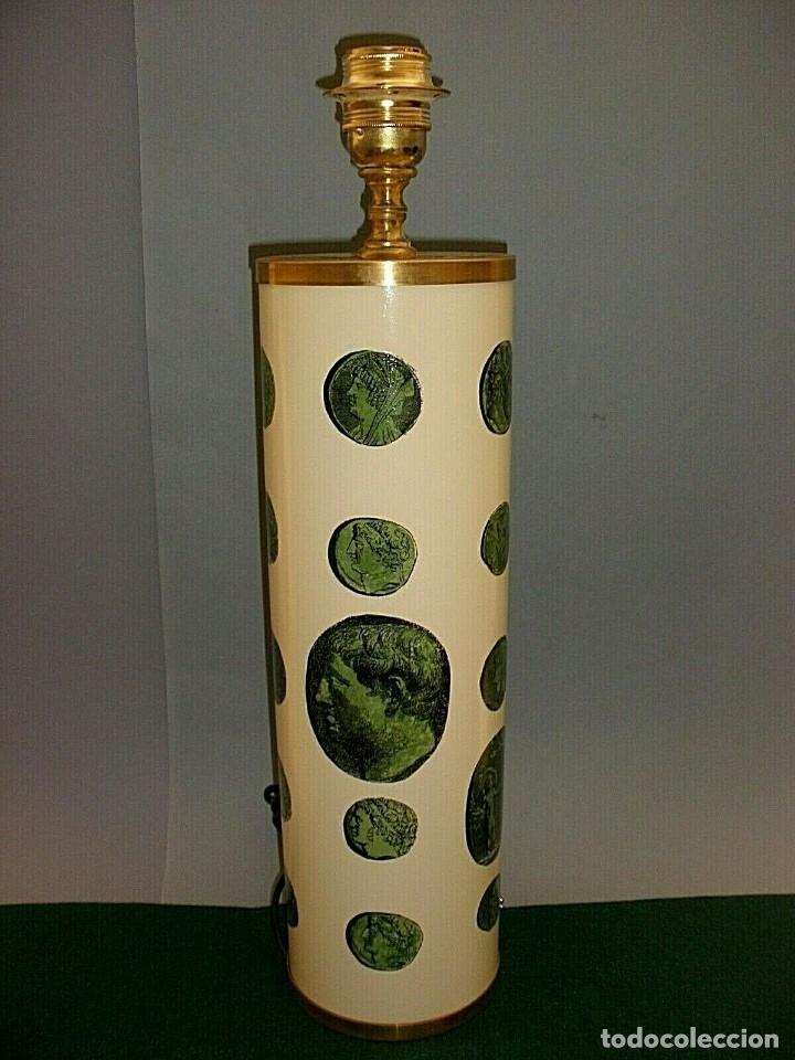 PIERO FORNASETTI MILANO LAMPARA DE MESA VINTAGE LAMP FIRMADA EXCELENTE ESTADO ITALIA (Antigüedades - Iluminación - Lámparas Antiguas)