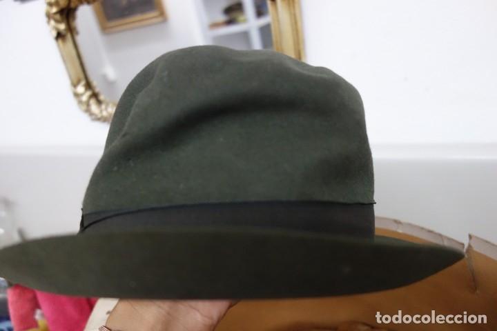 Antigüedades: LOTE DE CINCO SOMBREROS PARA DAMA CON CAJA ORIGINAL DE PRINCIPIOS DEL SIGLO XX - Foto 7 - 175762449
