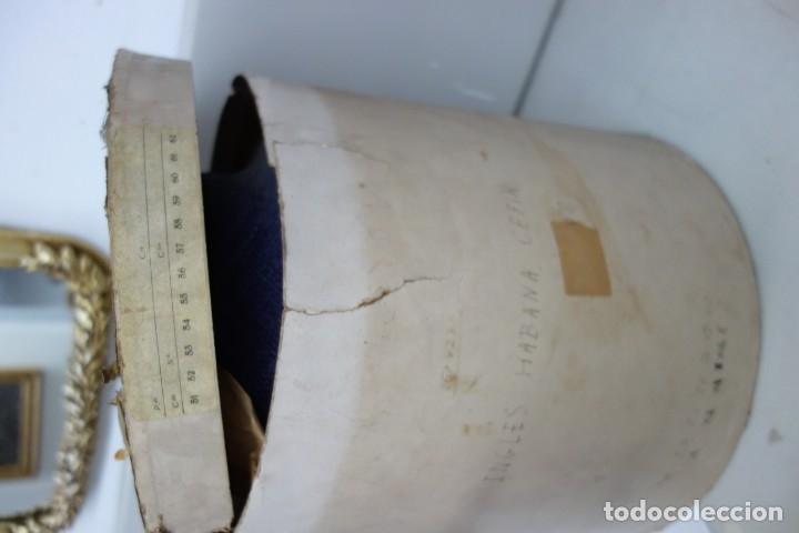 Antigüedades: LOTE DE CINCO SOMBREROS PARA DAMA CON CAJA ORIGINAL DE PRINCIPIOS DEL SIGLO XX - Foto 20 - 175762449