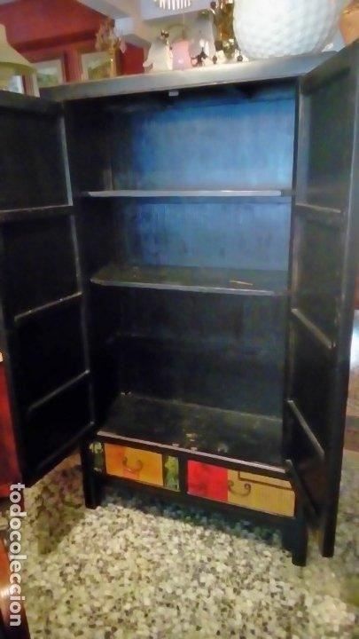Antigüedades: armario oriental- - Foto 4 - 175763117
