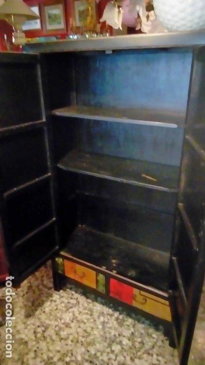 Antigüedades: armario oriental- - Foto 5 - 175763117