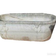 Antigüedades: BAÑERA DE MARMOL SIGLO XIX. Lote 175770195