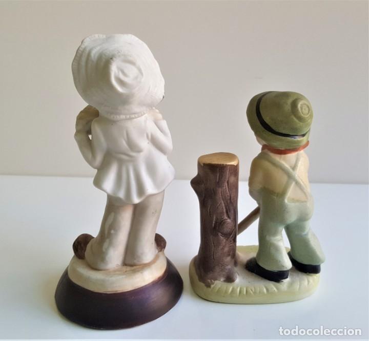 Antigüedades: BONITAS FIGURAS CERAMICA MOTIVOS INFANTIL - 13 Y 16 CM ALTO APROX - Foto 8 - 175771198
