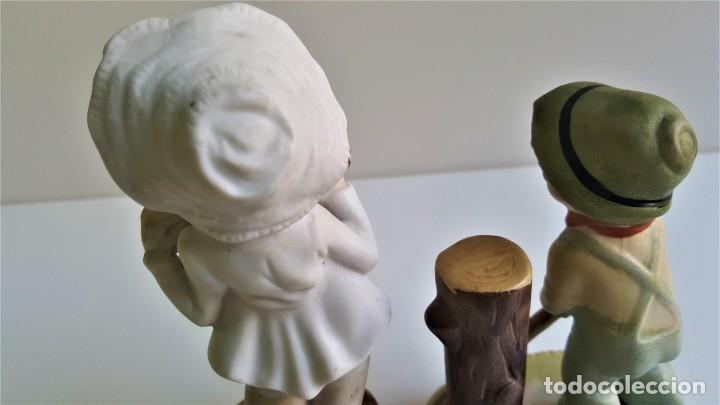 Antigüedades: BONITAS FIGURAS CERAMICA MOTIVOS INFANTIL - 13 Y 16 CM ALTO APROX - Foto 10 - 175771198