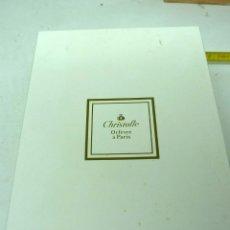 Antigüedades: CUBIERTOS DE PLATA CHRISTOFLE FRANCIA. Lote 175774143