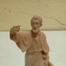 Antigüedades: EXCELENTE FIGURA DE PESEBRE MEDIDAS 24 CM . Lote 175780275