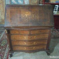 Antigüedades: BUREAU MARQUETERIA. Lote 175813377