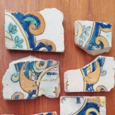 Antigüedades: AZULEJOS ESPAÑOLES ANTIGUOS. Lote 175832542