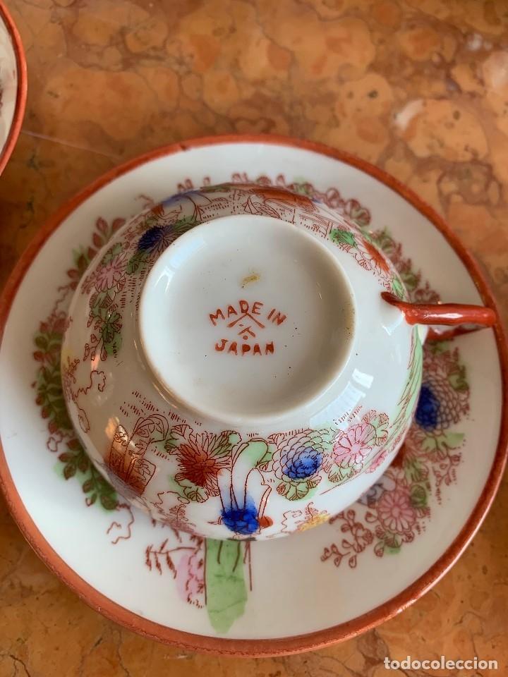Antigüedades: JUEGO DE CAFE PORCELANA JAPONESA DE 20 PIEZAS - Foto 3 - 175834200
