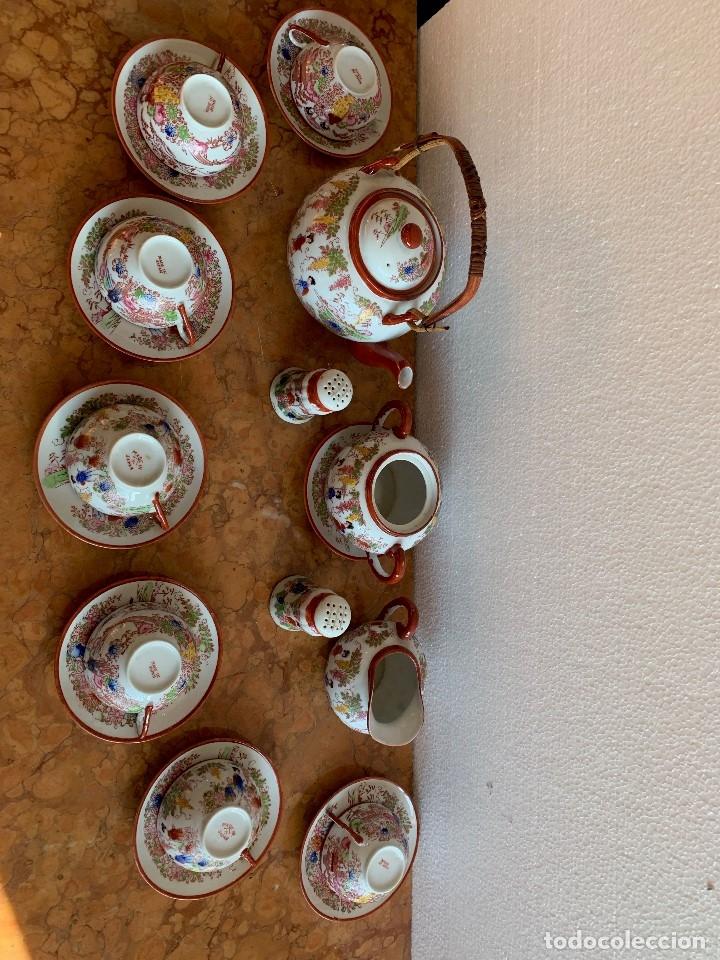 Antigüedades: JUEGO DE CAFE PORCELANA JAPONESA DE 20 PIEZAS - Foto 5 - 175834200