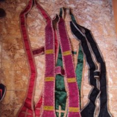 Antigüedades: (ANT-190915)LOTE DE 4 ESTOLA. Lote 175838538