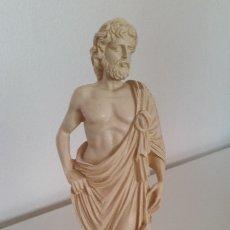 Antigüedades: PRECIOSA ESCULTURA SELADA AEKHTIOE , ESKLEROSHECHA EN RESINA. Lote 175842845