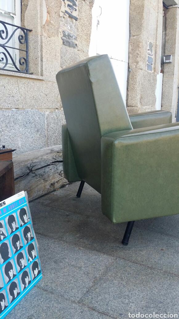 Antigüedades: Espectacular sillón Germany skay Mid century - Foto 5 - 175845963