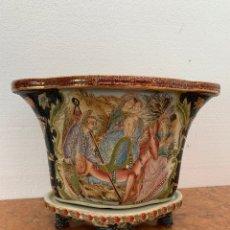 Antigüedades: MACETERO PORCELANACHINA-ASIATICO. Lote 175860864