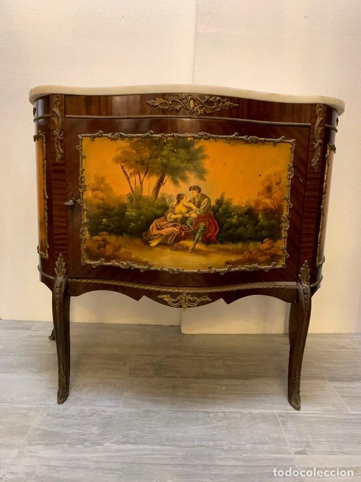 CÓMODA ANTIGUA ESTILO LUIS XV (Antigüedades - Muebles - Cómodas Antiguas)