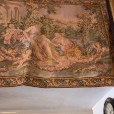 Antigüedades: ANTIGUO TAPIZ BOUCHER DE PARIS. Lote 175893059