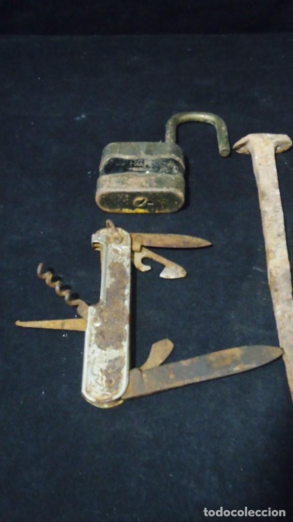 Antigüedades: Lote de antiguos clavos - Foto 2 - 175908694