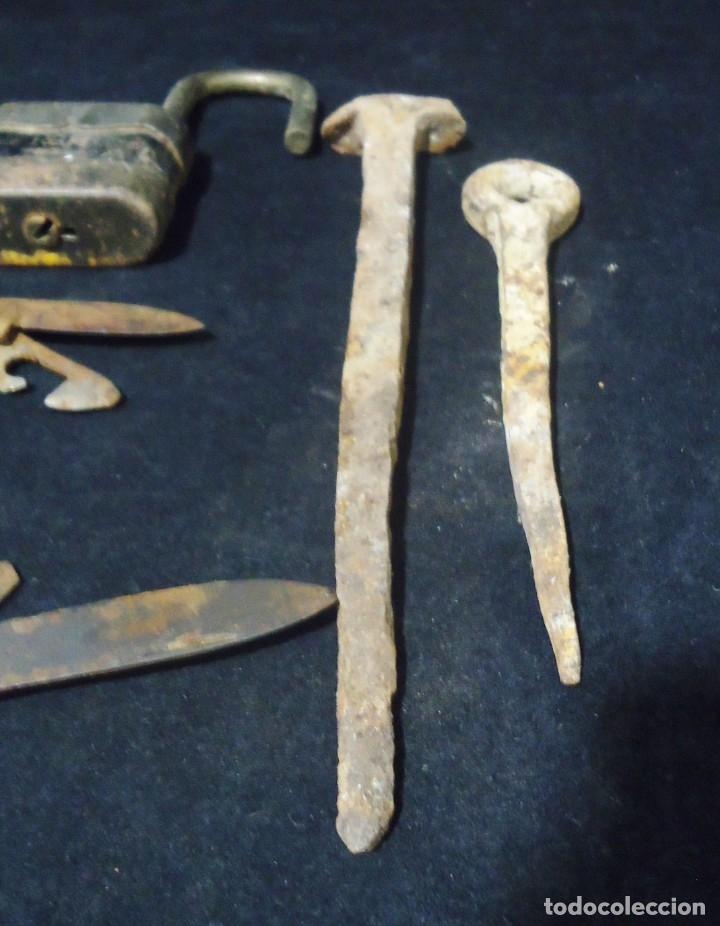 Antigüedades: Lote de antiguos clavos - Foto 3 - 175908694