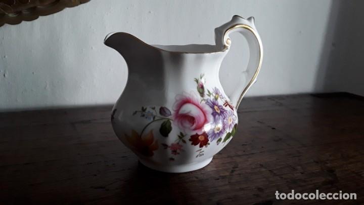 LECHERA PORCELANA ROYAL CROWN DERBY (Antigüedades - Porcelanas y Cerámicas - Inglesa, Bristol y Otros)