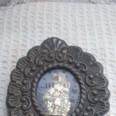 Antigüedades: ANTIGUO RELICARIO VIRGEN DEL CARMEN . Lote 175960902