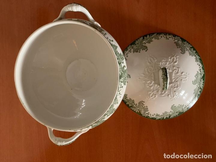 Antigüedades: Sopera Saguerremines. - Foto 4 - 175962663