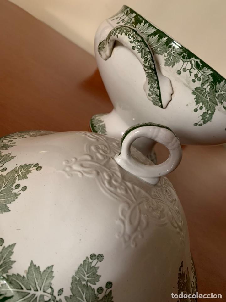 SOPERA SAGUERREMINES. (Antigüedades - Porcelana y Cerámica - Francesa - Limoges)