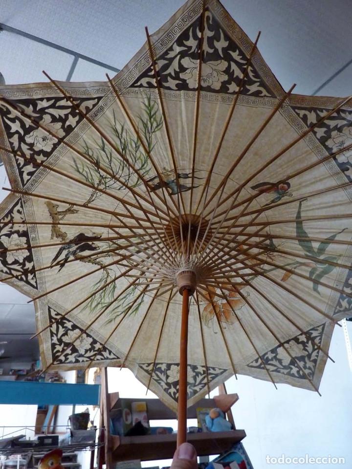 Antigüedades: SOMBRILLA - Foto 2 - 175991738