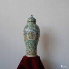 Antigüedades: JARRÓN CERÁMICA ANTIGUO. Lote 176015239