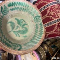 Antigüedades: LEBRILLO MUY ANTIGUO . Lote 176064667