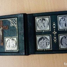 Antigüedades: ESCAPULARIO EN FORMA DE LIBRITO ? . Lote 176064700