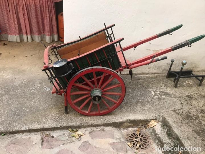 CARRO (Antigüedades - Técnicas - Rústicas - Agricultura)