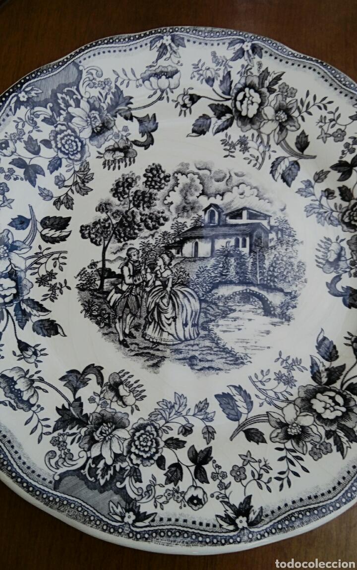 Antigüedades: Plato de porcelana inglesa Ironstone. - Foto 4 - 176082887