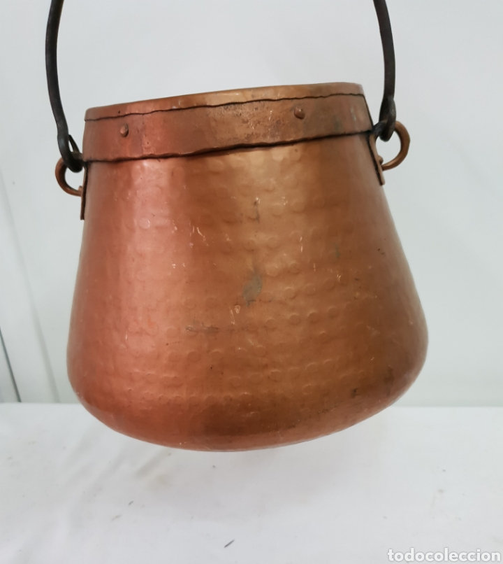Antigüedades: Olla de cobre - Foto 2 - 176087975