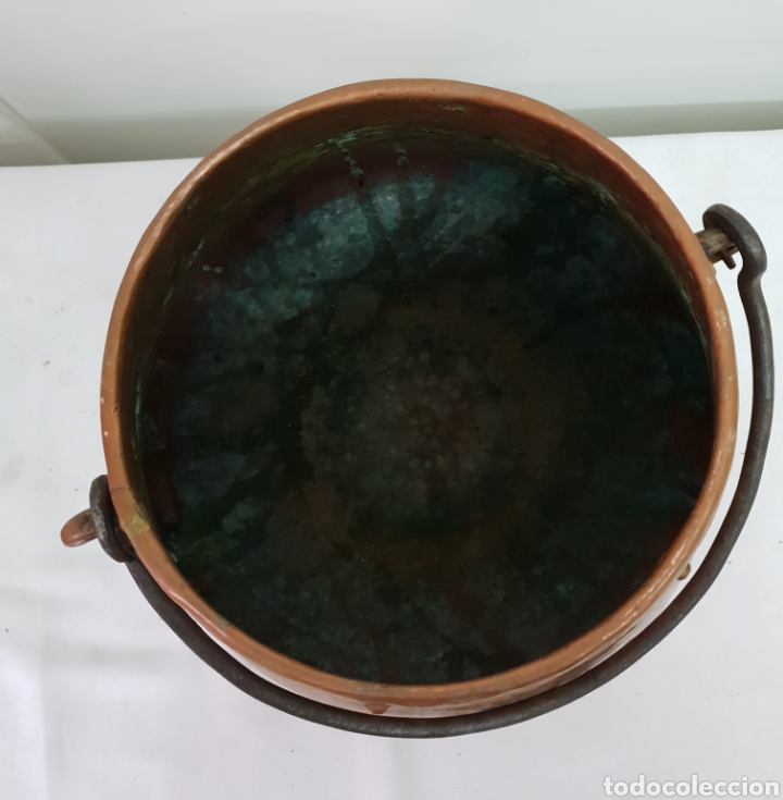 Antigüedades: Olla de cobre - Foto 3 - 176087975