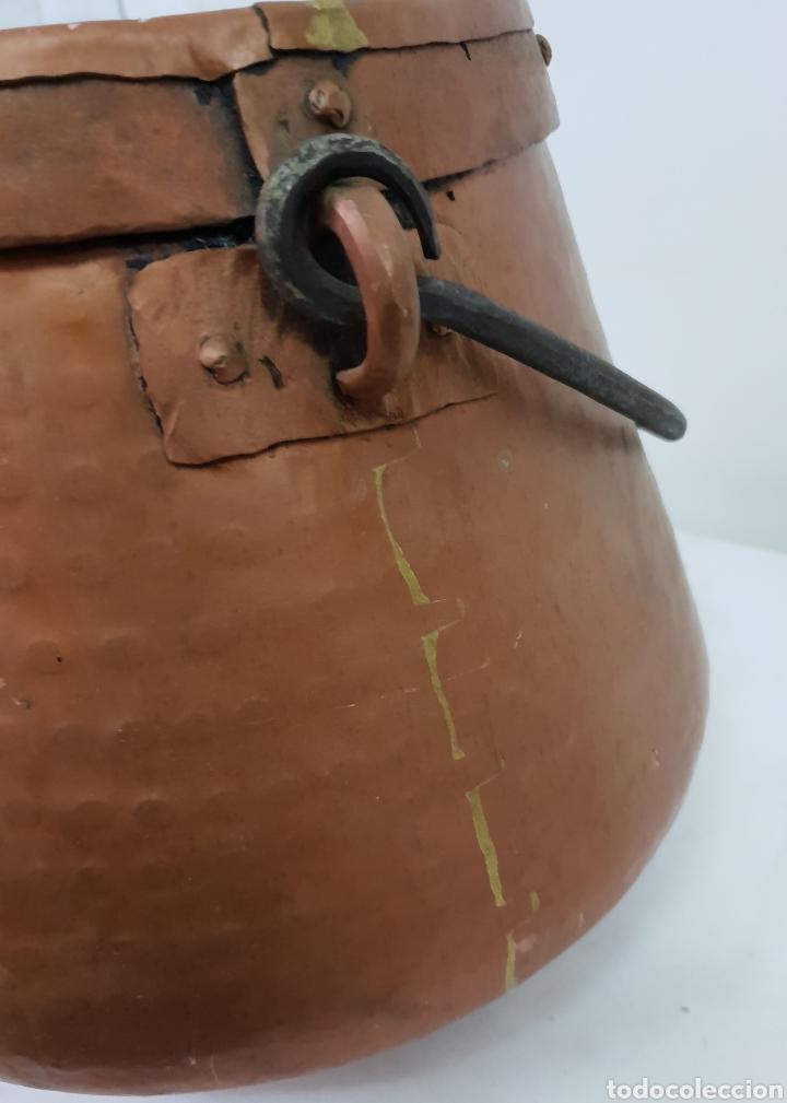 Antigüedades: Olla de cobre - Foto 9 - 176087975