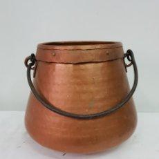 Antigüedades: OLLA DE COBRE. Lote 176087975