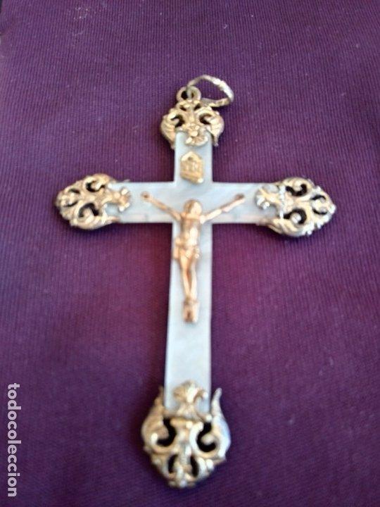 CRUZ NACAR ANTIGUA (Antigüedades - Religiosas - Cruces Antiguas)