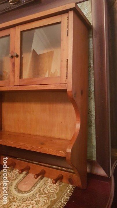 Antigüedades: MUEBLE PLATERO DE COLGAR . - Foto 2 - 176096369