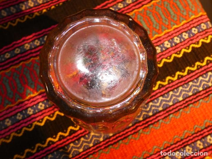 Antigüedades: Murcia. Antiguo vaso de cristal Balneario de Archena,Virgen de la salud, mide 17 x 11 x 8 cms - Foto 4 - 176124850