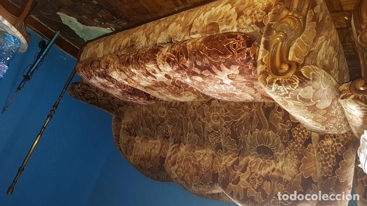 Antigüedades: Conjunto de sofas 3 plazas mas 2 sillones. - Foto 4 - 176140078