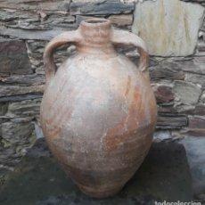 Antigüedades: ALFARERIA ARAGONESA CÁNTARO HUESA DE COMÚN. Lote 176140582
