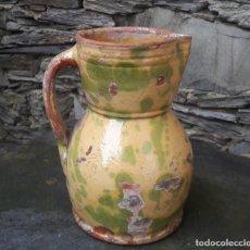 Antigüedades: ALFAREÍA CATALANA JARRA VINO. Lote 176141942