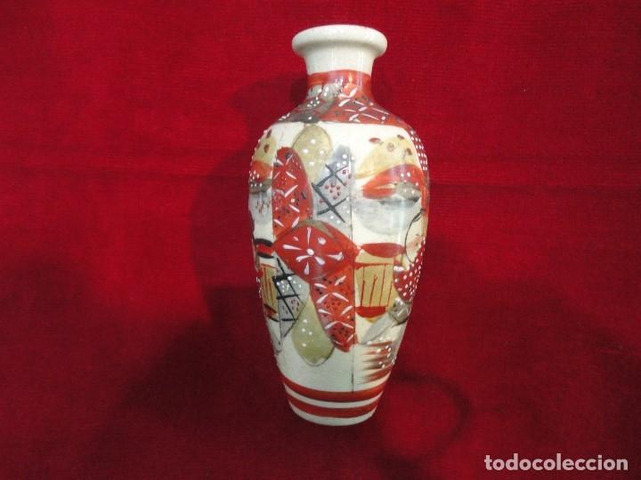Antigüedades: PAREJA DE JARRONES PORCELANA - Foto 2 - 176162204