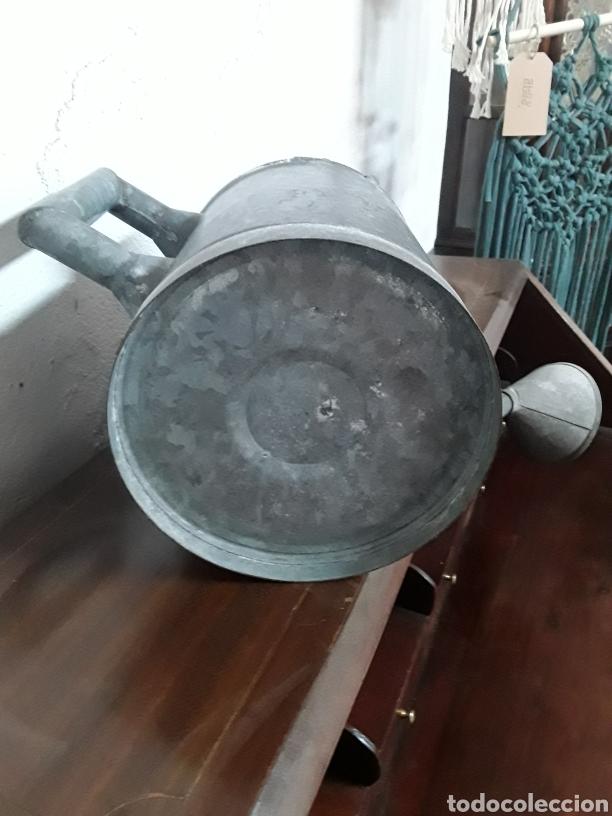 Antigüedades: Regadera de cinc - Foto 6 - 176196229