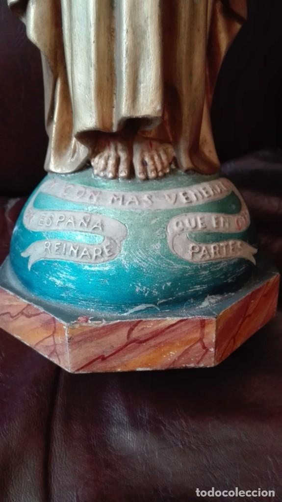 Antigüedades: Corazón de Jesús para restaurar - Foto 2 - 176207210