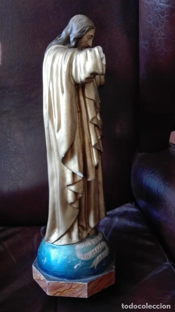 Antigüedades: Corazón de Jesús para restaurar - Foto 3 - 176207210