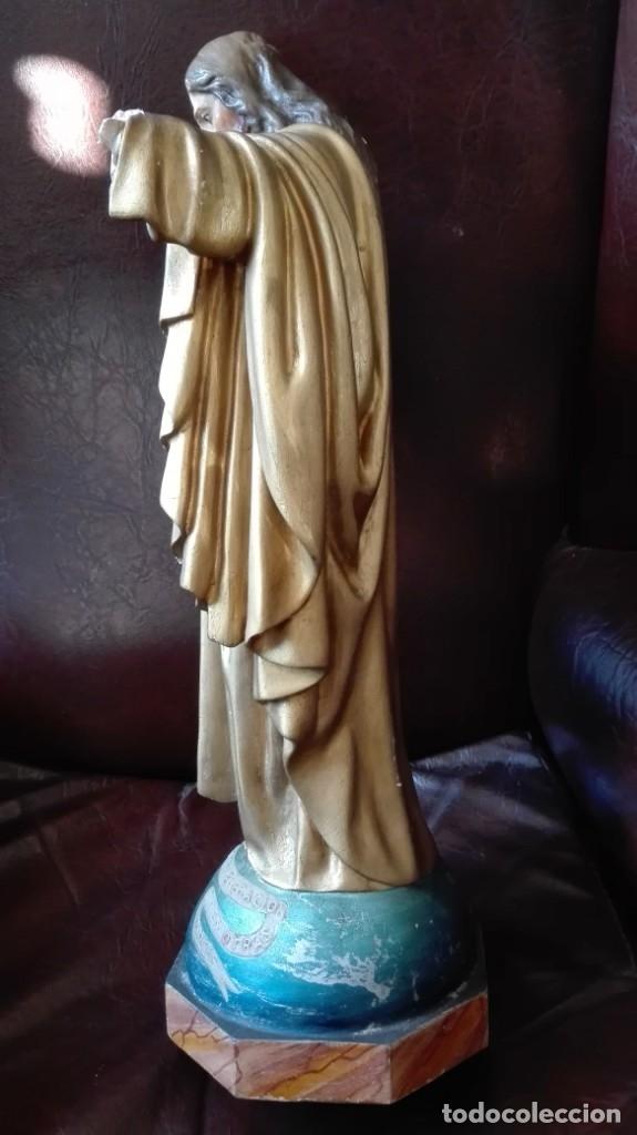 Antigüedades: Corazón de Jesús para restaurar - Foto 5 - 176207210