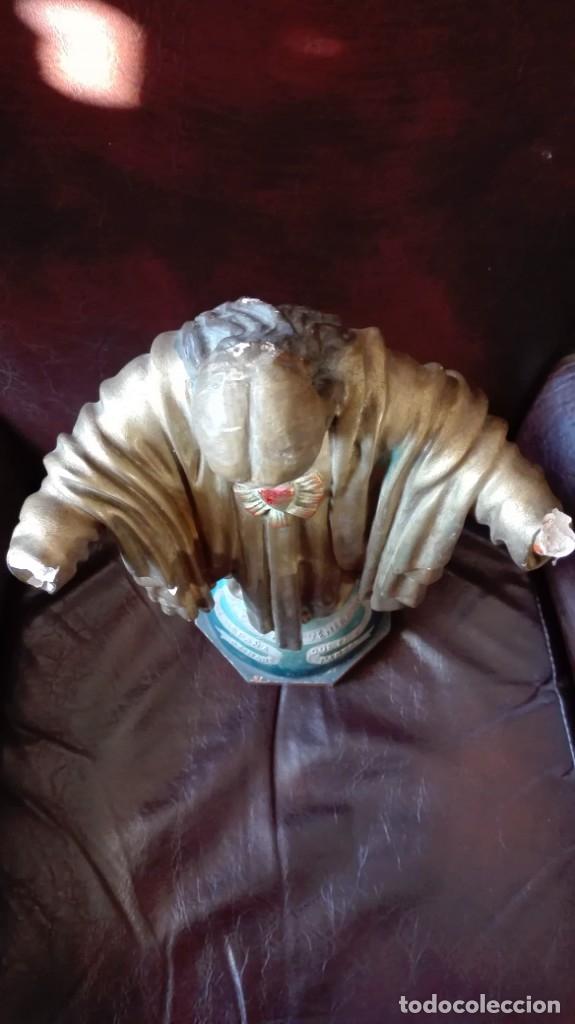 Antigüedades: Corazón de Jesús para restaurar - Foto 7 - 176207210
