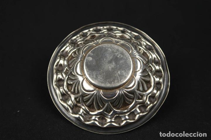 Antigüedades: Antigua bandeja de Plata Española Contraste Estrella - Foto 5 - 176209165