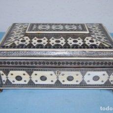 Antigüedades: COSTURERO ANGLO-INDIO S.XIX. Lote 176213619